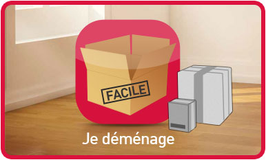 Changement d 39 adresse d m nagement formulaire boutique for La poste reexpedition definitive