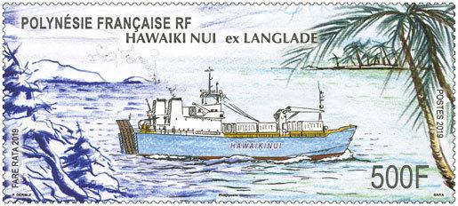 Bateau Hawaiku Nui ex Langlade
