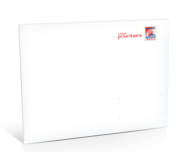 Pr t poster lettre prioritaire 100g lot de 10 boutique particuliers la poste - Localiser bureau de poste ...