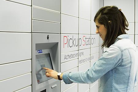 La livraison de vos colis en consigne pickup station la poste