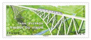 Timbre - Viaduc du Viaur