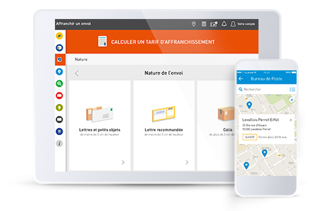 possibilites application mobile la poste