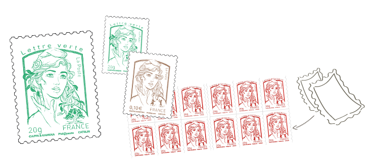 Services en ligne et produits de la poste timbres lettre recommand e r exp - Poste suivi courrier demenagement ...