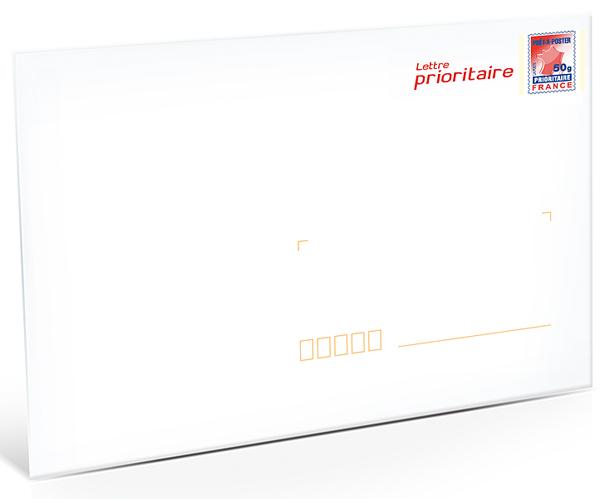 Pr t poster lettre prioritaire 50g enveloppes en lot de 10 boutique particuliers la poste - Localiser bureau de poste ...
