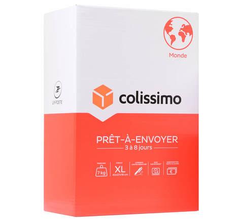 Colissimo Prêt-à-Envoyer Monde - Boîte de taille XL - 7 kg