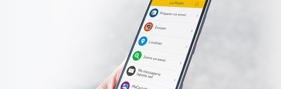banniere application mobile la poste