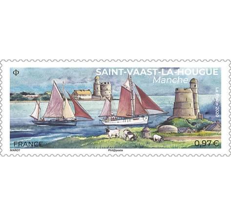 Saint-Vaast-la-Hougue - Lettre Verte