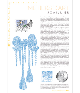 Document philatélique - Métier d'art - Joaillier