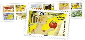 Carnet - Le Goût - 12 timbres autocollants