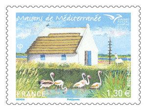 Timbre - Euormed - Maisons de Méditerranée
