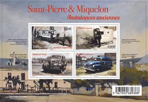 Saint-Pierre-et-Miquelon - Bloc les Ambulances