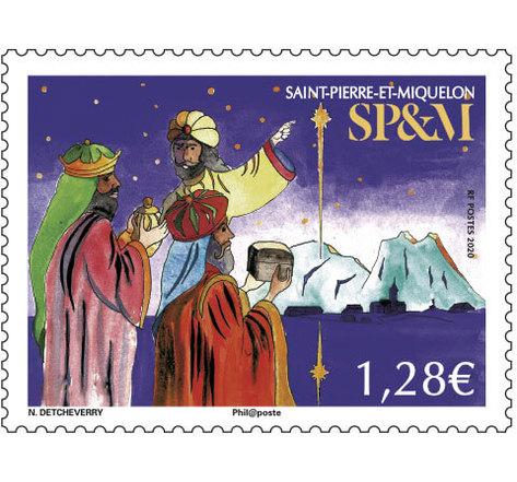 Saint Pierre et Miquelon - Etoile de Noël