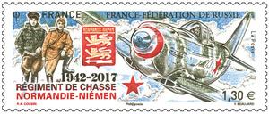 Émission conjointe France – Fédération de Russie 1942 – 2017 Régiment de chasse Normandie-Niémen