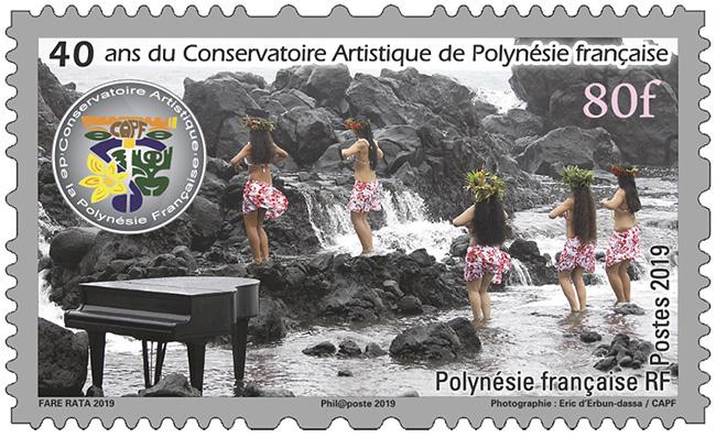 Polynésie Française - Heiva - 40 ans du conservatoire