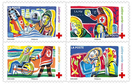 Prix du timbre rouge 20g