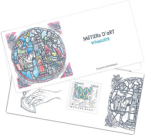 Souvenir - Métiers d'art - Vitrailliste