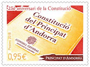 Andorre - Aniverari Constitucio
