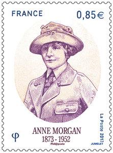 Timbre - Anne Morgan 1873-1952