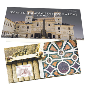 Souvenir - 350 ans de l'Académie de France à Rome - France-Italie
