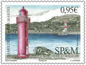 Saint Pierre et Miquelon - Phare Ile aux Marins