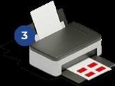 Imprimer vos timbres Etape 3