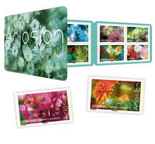 Carnet - Eclosion - 12 timbres autocollants