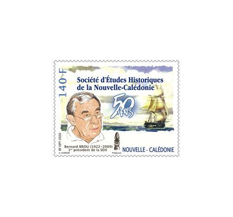 Nouvelle Calédonie - 50ème anniversaire de la Société d'Etudes Historiques de la Nouvelle-Calédonie