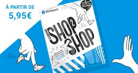 Responsable d'un magasin dans une voiture avec Shop2Shop
