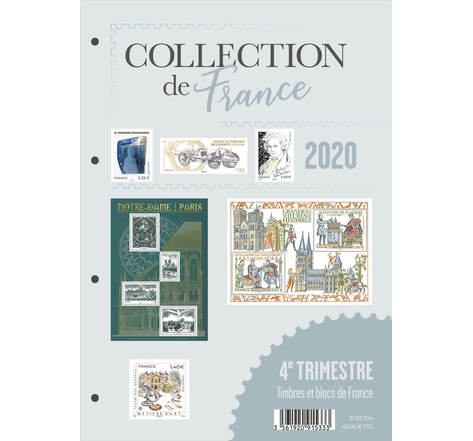 Collection de France 4ème trimestre 2020
