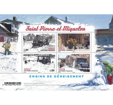 Saint Pierre et Miquelon - Déneigement