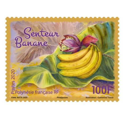 Polynésie Française - Senteur Banane - 100F