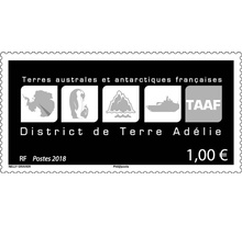 Timbre - TAAF - District de Terre Adélie