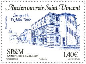 Saint-Pierre-et-Miquelon - Ancien ouvroir Saint-Vincent