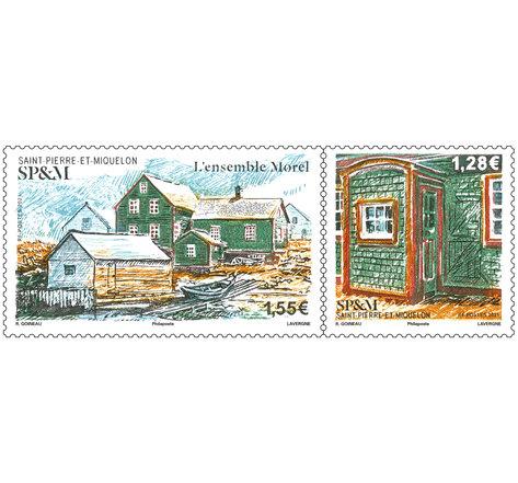 Diptyque - Saint Pierre et Miquelon - Ensemble Morel