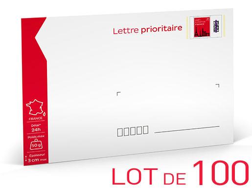 lettre prioritaire Prêt à Poster   Lettre Prioritaire   50g   Lot de 100 | Boutique  lettre prioritaire