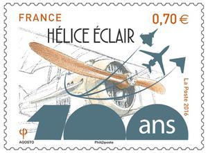 Timbre - Hélice Eclair