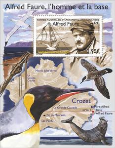 TAAF - Bloc Crozet Alfred Faure