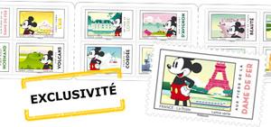 Carnet - Mickey & la France