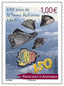 Andorre - 150 anys de la Nova Reforma