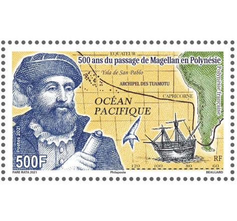 Polynésie Française - 500ème anniversaire du passage de Magellan