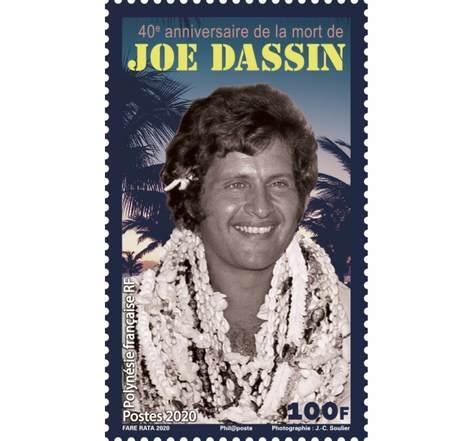 40eme Anniversaire de la mort de Joe Dassin - 100F