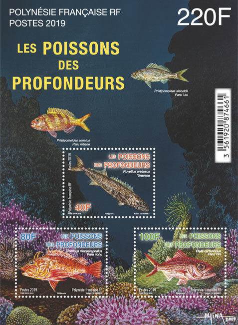 Bloc Les poissons des profondeurs