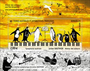 TAAF - Bloc Symphonie australe - Julien Gauthier