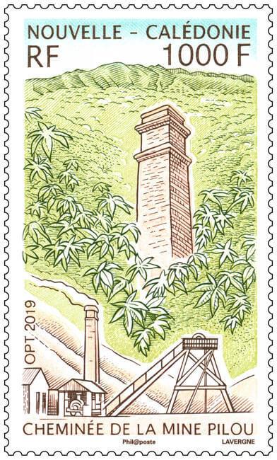 La cheminée de la mine Pilou