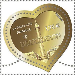 Timbre cœur - Boucheron - 100g