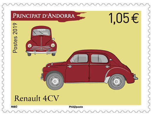 Andorre - Renault 4CV