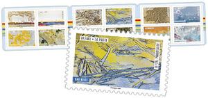 Carnet - Oeuvre de la Nature - 12 timbres autocollants