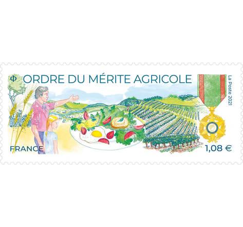 Ordre du Mérite agricole - Lettre verte