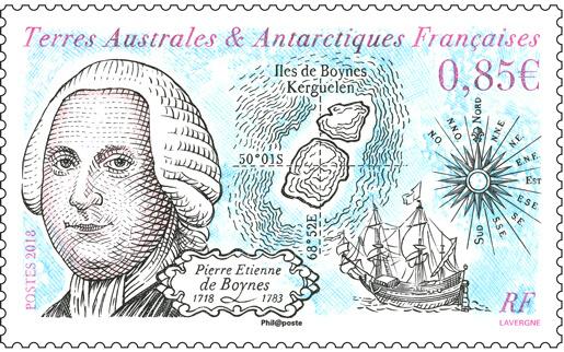 """Résultat de recherche d'images pour """"timbre Pierre Étienne de Boynes terres Australes"""""""