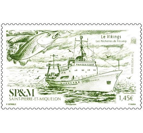 Saint Pierre et Miquelon - Les Chalutiers - Vikings